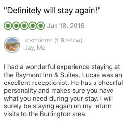 Baymont Review 6/18