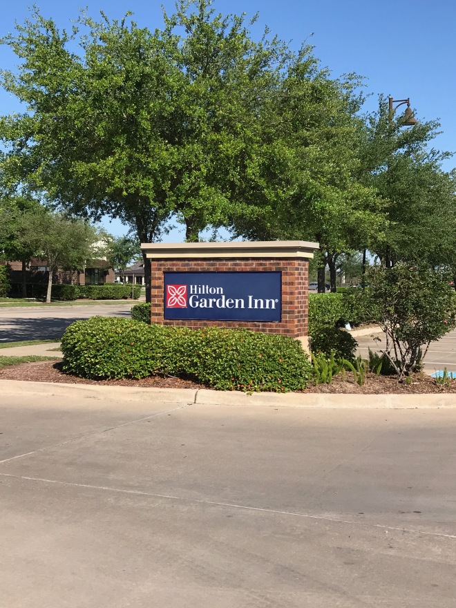 Hilton Garden Inn Sign
