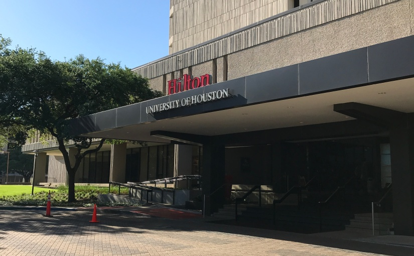 My Travels: Hilton University Of Houston, TX