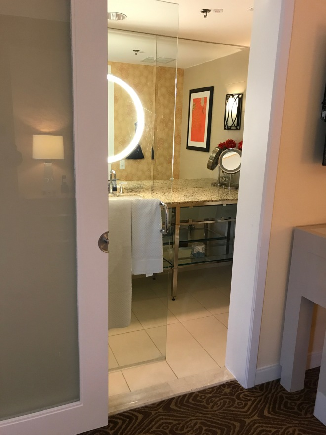 Bathroom entrance