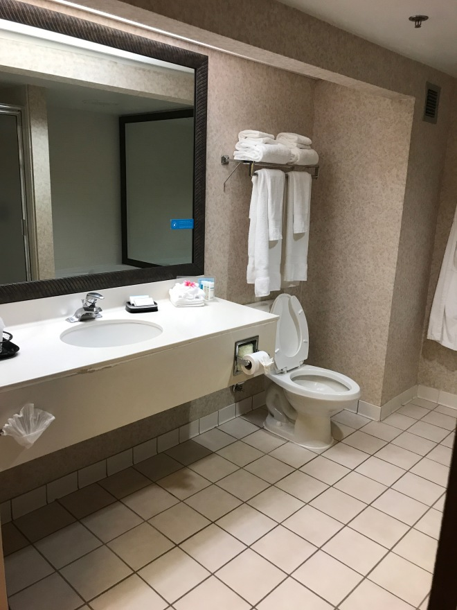 Large bathroom.