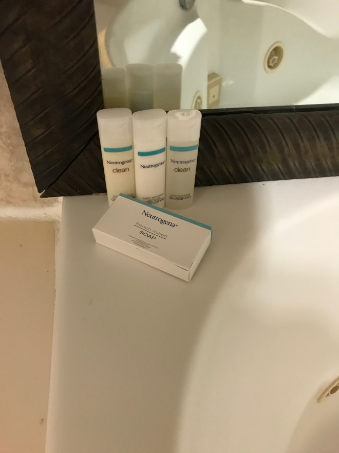 Signature Hampton bath amenities.